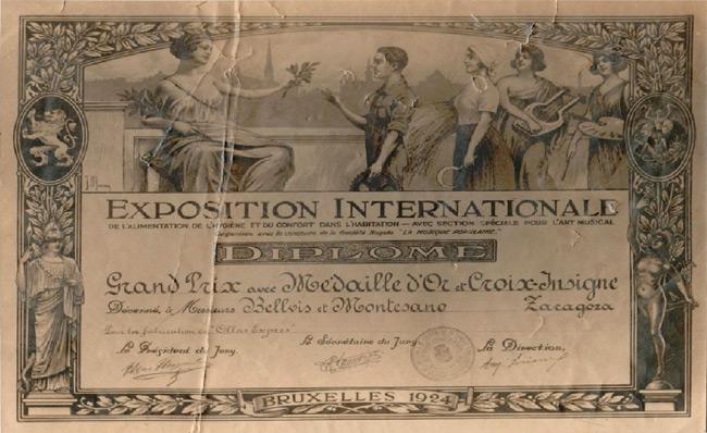 Diploma-bruselas-1924